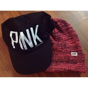 PINK NATION Exclusives- Dad cap and Beanie!